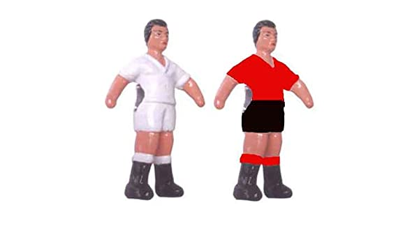 Deportin Jugador futbolin Barra 13 mm. Color Rojo 1 unid: Amazon.es: Deportes y aire libre