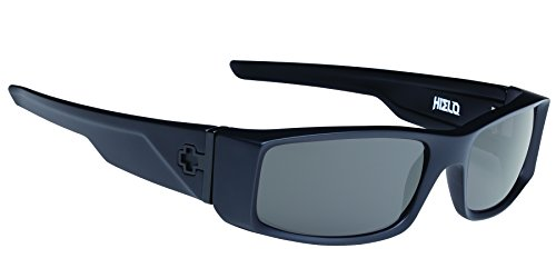 Spy Optic Hielo 670375973863 Flat Sunglasses, 56 mm (Soft Matte Black/Happy - Spy Sunglasses Hielo