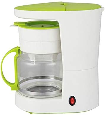 QWEASD Máquina De Café, Cafetera, 680W, Tipo De Goteo, Disponible En Rosa Y Verde, Material Asegurado De Grado Alimenticio,Verde: Amazon.es: Hogar