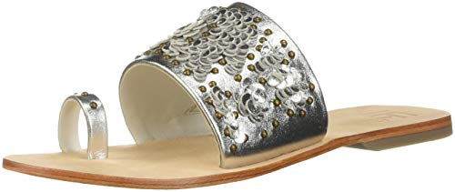 for by Leather L Flawless Women's LFL Life Sandal Lust Silver Slide wBq1dOE