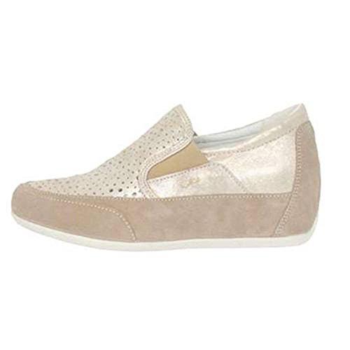 Sneaker Donna Bassa Visone Taupe 7740200 - Igi&Co