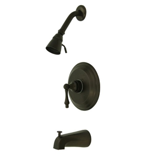 Kingston Brass KB3635ALT Tub and Shower Trim With Single Lever Handle, Oil Rubbed Bronze