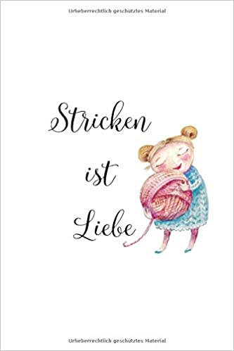 Notizbuch für Strickfans