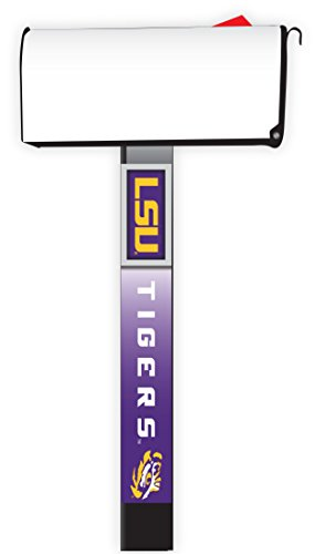 Cover Louisiana State University (LSU TIGERS MAILBOX POST COVER-LOUISIANA STATE UNIVERSITY MAILBOX POST COVER)