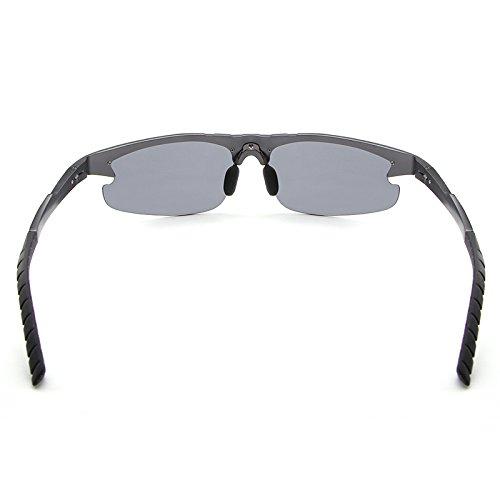 Polar Sol cuadradas Brown Masculino Moda lan conducción Syan de Diseñador de de de New Gafas oculos los de la de Color Sol Shuo Gafas Marca Hombres Gafas fq1xaHp1wW