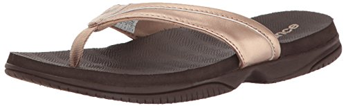 - New Balance Women's JoJo Thong Sandal, Rose Gold, 7 B US