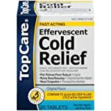 Top Care Effervescent Cold Relief Tablets (Case of 3)