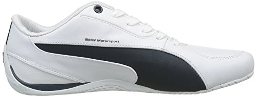 Puma Bmw Ms Drift Cat 5 - Zapatillas de deporte Hombre Blanco - Blanc (White/Team Blue)
