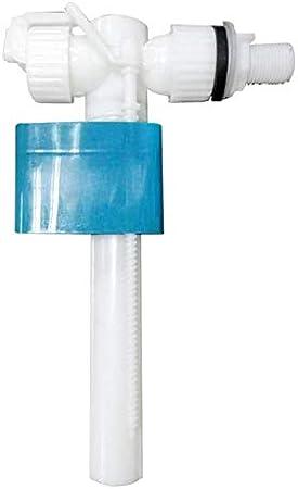 Accesorio para Cisterna G1//2 Ajustable V/álvula de Entrada Lateral para Inodoro Gelentea Piezas de Repuesto v/álvula de llenado Flotante