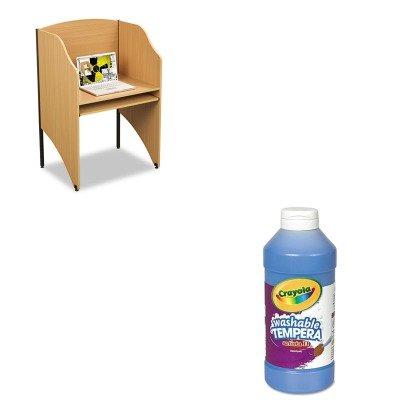 KITBLT89868CYO543115042 - Value Kit - Balt Floor Carrel (BLT89868) and Crayola Artista II Washable Tempera Paint (CYO543115042) (Balt Floor Carrel)