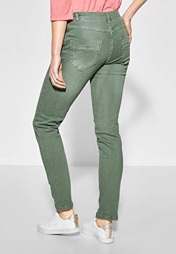 Cecil Kaki Chiaro Jeans Donna Slim 6rp768qwx