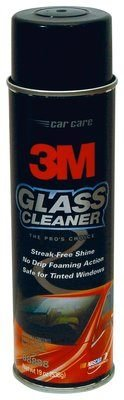 3M (08888) Glass Cleaner, 08888, 19.0 oz Net Wt, 12 cans per case [You are purchasing the Min order quantity which is 12 - 12 Case Cleaner Cans Glass