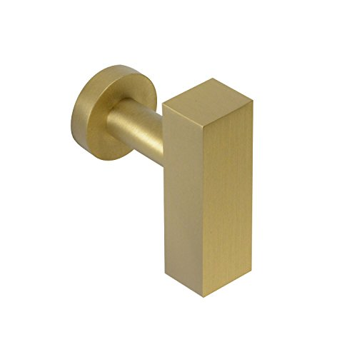(#1700 CKP Brand Empire Collection Solid Brass T-Knob, Empire Satin Brass - 10 Pack)