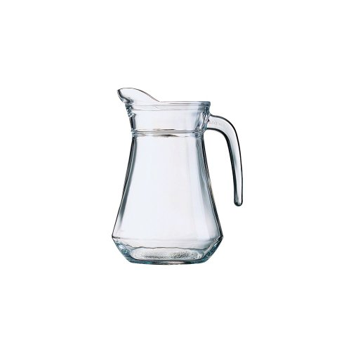 Arcoroc E7254 Glass 44 Oz. Serving Pitcher / Pour Lip - 6 / CS (Pitcher Glass Cardinals)