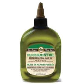 Difeel Premium Natural Hair Oil - Peppermint Oil, For Dry & Flaky Scalp, Cools & Refreshes Hair, Leaves Hair Shiny & Soft, Provides Immediate & Long Lasting Benefits For Hair & Skin 8 oz.