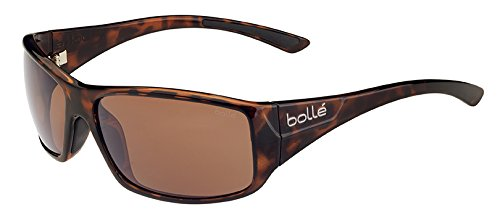 Bolle Kingsnake Sunglass with Polarized A-14 Oleo AF Lens, Shiny - Sunglasses Bolla