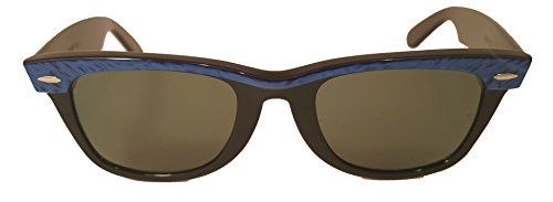 New Vintage Real Wayfarer Ray-Ban by Bausch & Lomb Electric Blue Limited - Ray Real Ban