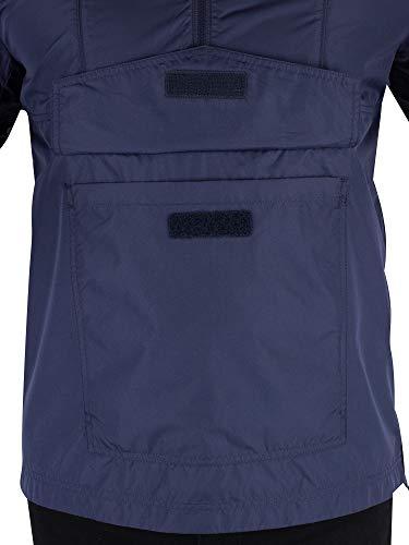 Solid Blouson Jeans Nylon Tommy Bleu Shell Popover Homme Tjm pxH1AwqU4