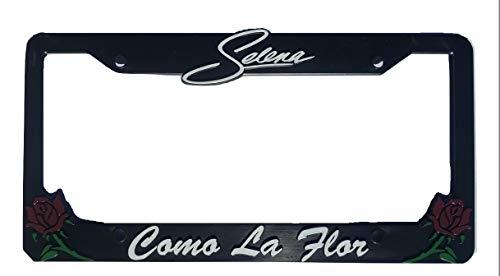 Selena Como La Flor License Plate Frame