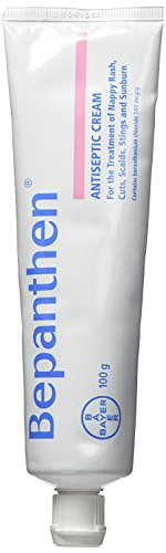 Bayer Bepanthen Antiseptic Cream 100g for the Treatment of Nappy Rash, Cuts, Scalds, Stings and Sunburn (New Formulation) (New Formulation ()