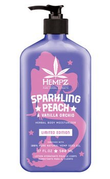 Hempz SPARKLING PEACH AND VANILLA ORCHID Body Moisturizer Limited Edition (Sparkling Peach)
