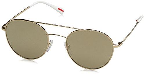 Gold Hombre Rossa Pale Marrón Sol 0PS Gafas Prada para 50SS Linea de UR8vqPf