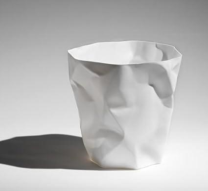 Essey 10490 Papierkorb M/ülleimer Bin Bin Polyethylen HD Classic HDPE wei/ß
