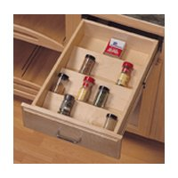 Drawer Tray Inserts Wood Spice Drawer Inserts - Wood Spice Tray