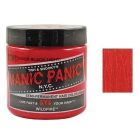 Manic Panic Semi Permanent Hair Color Cream Wildfire 4 Oz