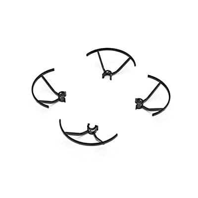 [DJI Tello Accessories] Prop Part Propeller Guard Blades Protector (Black): Toys & Games