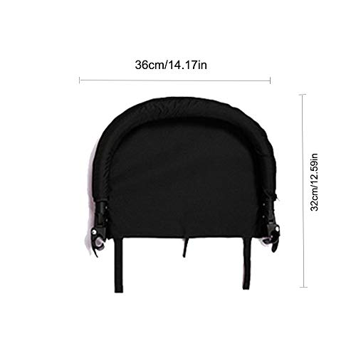 Samber Baby Stroller Footrest Baby Stroller Armrest Foot Support Stroller with Umbrella Accessories Extended Booster Seat Footrest Baby Stroller Accessories Feet Extension Infant Pram Foot Board