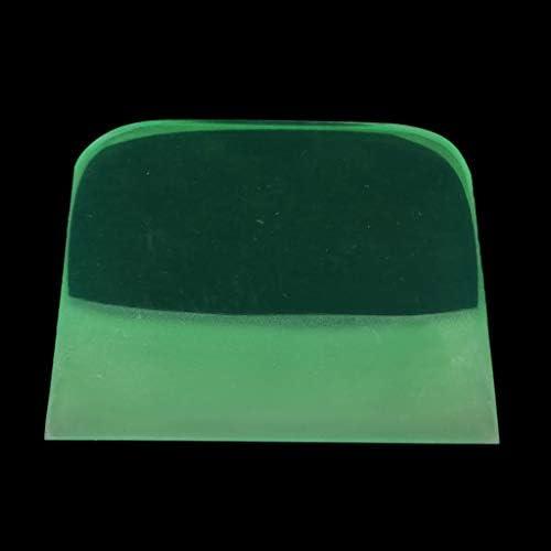 D DOLITY ゴム 台形 スクレーパー 陶器 デカール セラミック 粘土スキージツール 黄