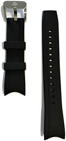 Original Citizen Promaster Black Rubber Band Strap for BJ2115-07E, BJ2117-01E, BN0085-01E