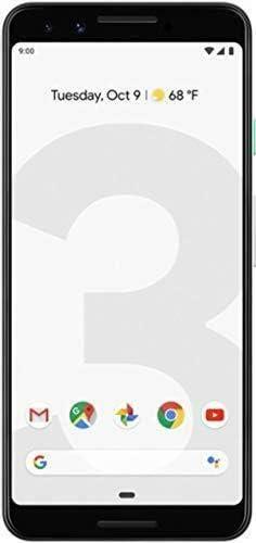 Google Pixel 3 128GB Unlocked - White (Renewed)