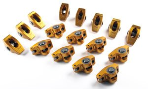 (Crane Cams 11772-16 Gold Race Rockers w/ 1.6 Ratio for Chevrolet 262-400 Small Block w/ 7/16