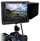 Professional LILLIPUT 7'' 665 /O/P 665GL-70NP/HO/Y/P Color TFT LCD Monitor With HDMI, YPbPr, AV Input HDMI Output / With F-970 & QM91D Battery Plate + Sun Shade Cover + Free Hot-shoe Mount/ 4 NEW Function: Peaking Filter , False Color Filter, Zebra Exposure, Brightness Histogram / for DSLR Camera With HDMI Port / Such as: Canon 5D II / 5D III / 7D / Nikon D800 / D800E / D7000 D4 Camera etc