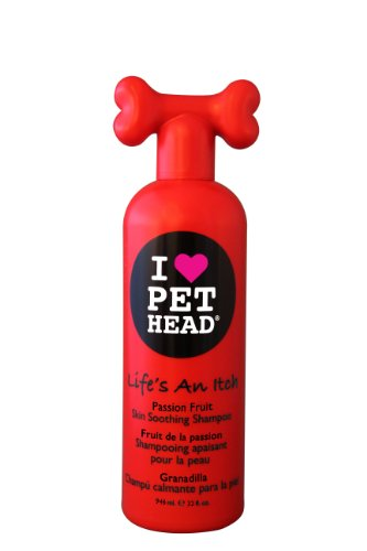 I love pet head Passion Fruit Skin Soothing Shampoo Life's an itch 32 oz, My Pet Supplies