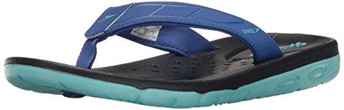 Speedo Women's ON Deck FLIP Sandal, Blue, 8 C/D US