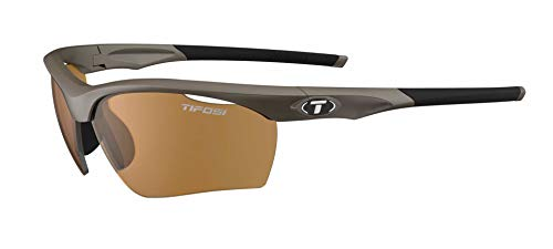 Tifosi Vero Wrap Sunglasses, Iron, 63.8 ()