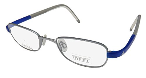 Eyeglasses Adidas Lite Fit Full Rim Performance Steel kids A 002 6050 silver mat