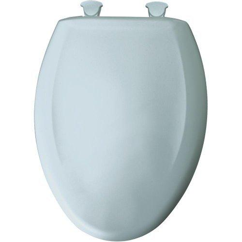 Bemia  Bemis 1200SLOWT 174 Slow Close Sta-Tite Elongated Closed Front Toilet Seat, blu Mist, by Bemis