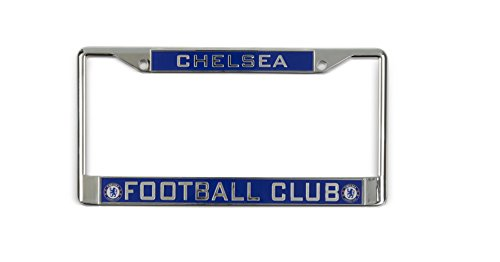 Fc Frame (Chelsea FC Inlaid Car License Plate Frame Blues Fan)