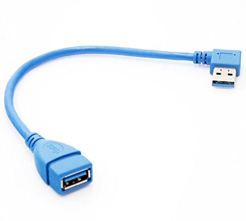 Super Speed USB 3.0 AF to AF Cable Adapter (Blue) - 6