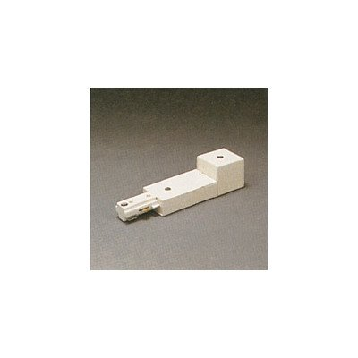 PLC Lighting TR128 BK Accessories Collection Track Lighting One Circuit Connector, Black