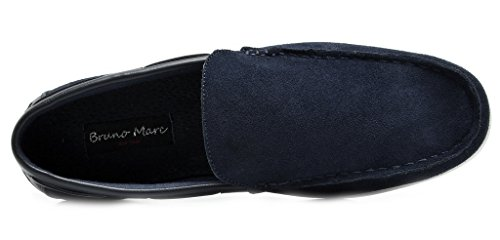 Bruno Marc Men's Kilin-01 Navy Driving Loafers Moccasins Shoes – 6.5 M US