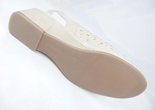 ara Damen Sandalette RÜGEN Sandale beige mit Nieten Weite G