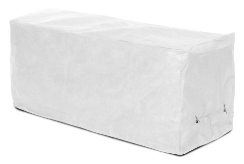 KoverRoos DuPont Tyvek 24207 8-Feet Bench Cover, 96-Inch Width by 25-Inch Diameter by 36-Inch Height, White