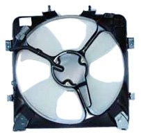 Honda Del Sol Ac Cooling (TYC 610070 Honda Replacement Condenser Cooling Fan Assembly)