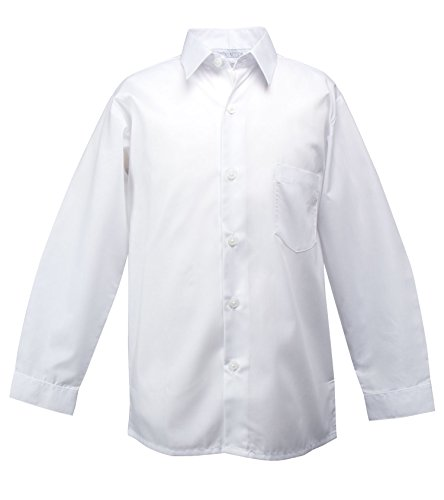 Spring Notion Baby Boys' Long Sleeve Dress Shirt 24M White by Spring Notion