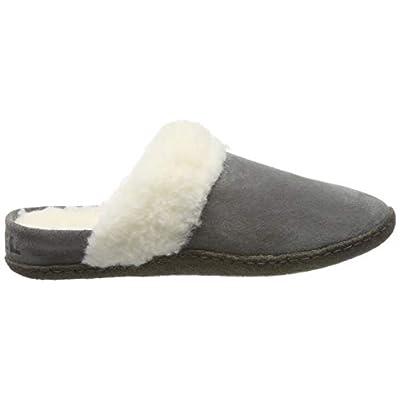 Sorel Women's Nakiska Slide II Slippers, Quarry/Natural, 7 | Slippers